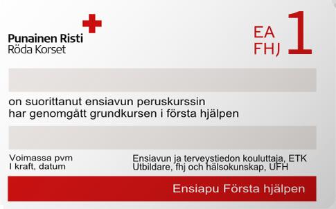 EA1-koulutus Vantaa