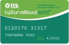 Työturvallisuuskortti - koulutukset lähelläsi Uudellamaalla