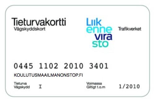 Tieturva 1 Helsinki ja lähiseutu - ammattipätevyyskoulutukset nopealla aikataululla