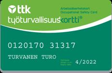 Työturvallisuuskortti Tampere – vain 69 €